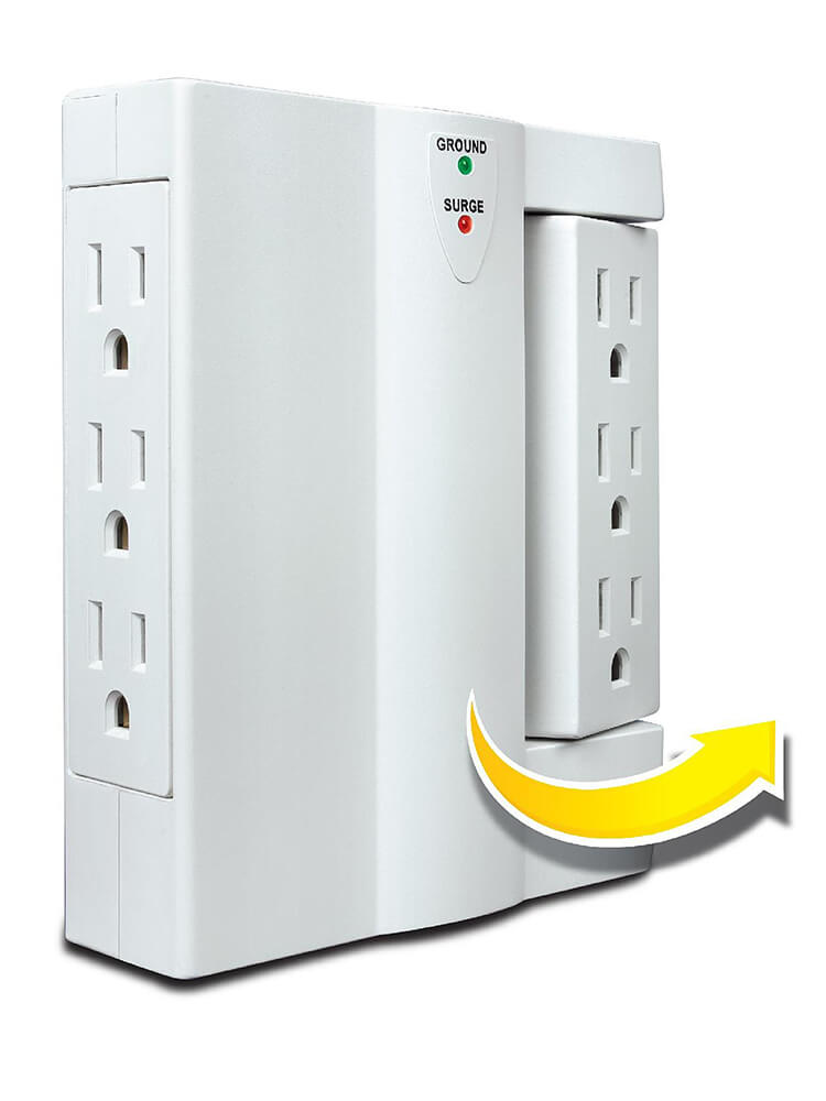 6-outlet-side-socket-power-plug-as-seen-on-tv-image